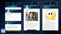 Q&A Health App Responds in Siri-Like Style