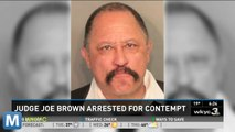 TV's Judge Joe Brown Held In Contempt Of Court And Other News You Need To Know Today