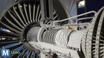 This LEGO Model Looks and Moves Like a Real Jet Engine