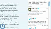 Twitter's New Embeddable Timelines Put Twitter on Any Website