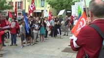 Hautes-Alpes: Une centaine de personnes dans les rues de Gap pour la paix entre Israel et la Palestine