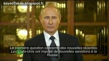 Vladimir Poutine sur l'Ukraine et les nouvelles sanctions US VOSTFR 25/07/2014