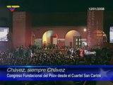(Vídeo) Chávez, Siempre Chávez (12.01.08) Instalación del Congreso PSUV en el cuartel San Carlos, Caracas