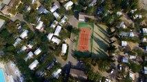 Film aérien Camping Yelloh! Village Soleil Vivarais à Vallon Pont d'Arc - Ardèche - Rhône-Alpes