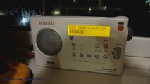 DAB Digital Radio DX BBC Northampton , 3CR & Surrey signals Received In Clacton Essex