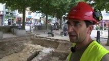 Fouilles archéologiques rue Saint Martial
