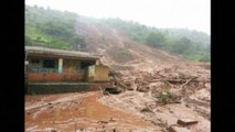 Scores feared trapped by landslide in India