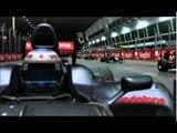 F1公式ゲームソフト『F1 2010』 シンガポールGP ナイトレース