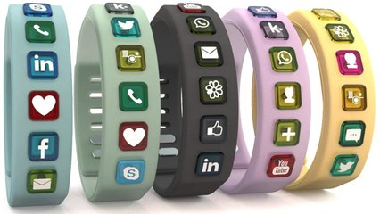 Hicon Smart Wristband Social Bracelet Might Be The Answer To Your Prayers