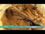Recette de saison: poulet fondant au pain d'épices