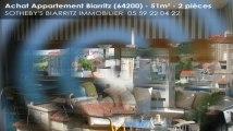 A vendre - appartement - Biarritz (64200) - 2 pièces - 51m²