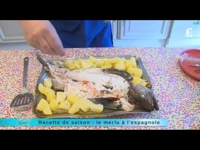Recette de saison : le merlu à l'espagnole