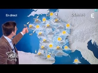 Les prévisions météos à 9 jours du lundi 6 janvier au mercredi 15 janvier 2014