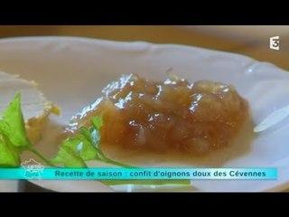 Recette de saison : confit d'oignons doux des Cévennes