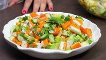 وصفات اكلات رمضان 2014: سلطة سلطعون | مع إلسا