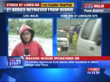 Pune landslide: 129 feared trapped