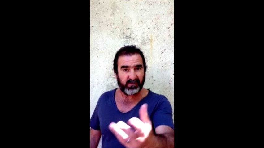 Cantona : « Monsieur le président, cher François Hollande... »