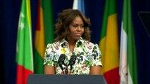 """Michelle Obama: """"Le sang de l'Afrique coule dans mes veines"""""""