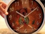Nice Kids Cartoon Round 10-inch Non Ticking Ultra Silent Wall Clock