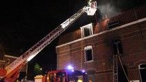 Armentières: incendie dans une maisonnette