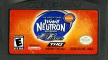 CGR Undertow - THE ADVENTURES OF JIMMY NEUTRON BOY GENIUS: JET FUSION review for Game Boy Advance