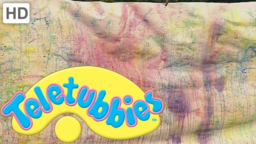 Teletubbies: Spray Paint Mural