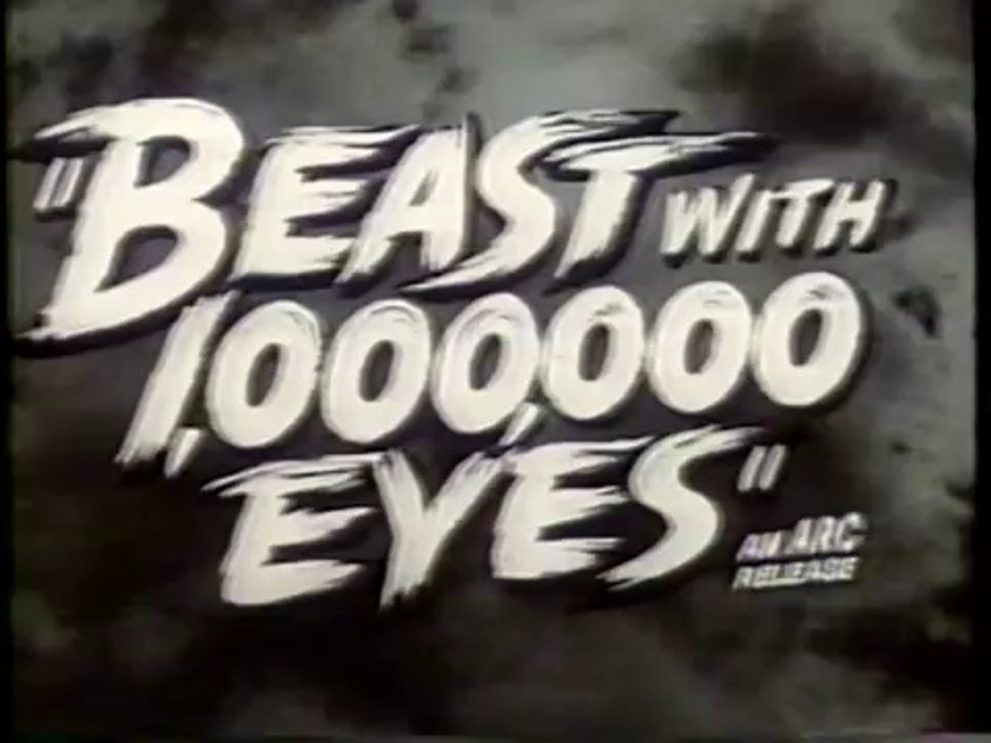 The Beast with a Million Eyes trailer