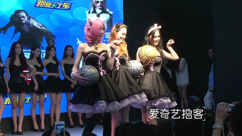 直击ChinaJoy2014现场 展台最美的妹子们
