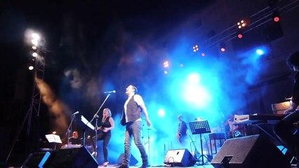 Θάνος Μικρούτσικος, Γιάννης Κότσιρας και η Ρίτα Αντωνοπούλου  Φεστιβάλ Μονής Λαζαριστών 2014.