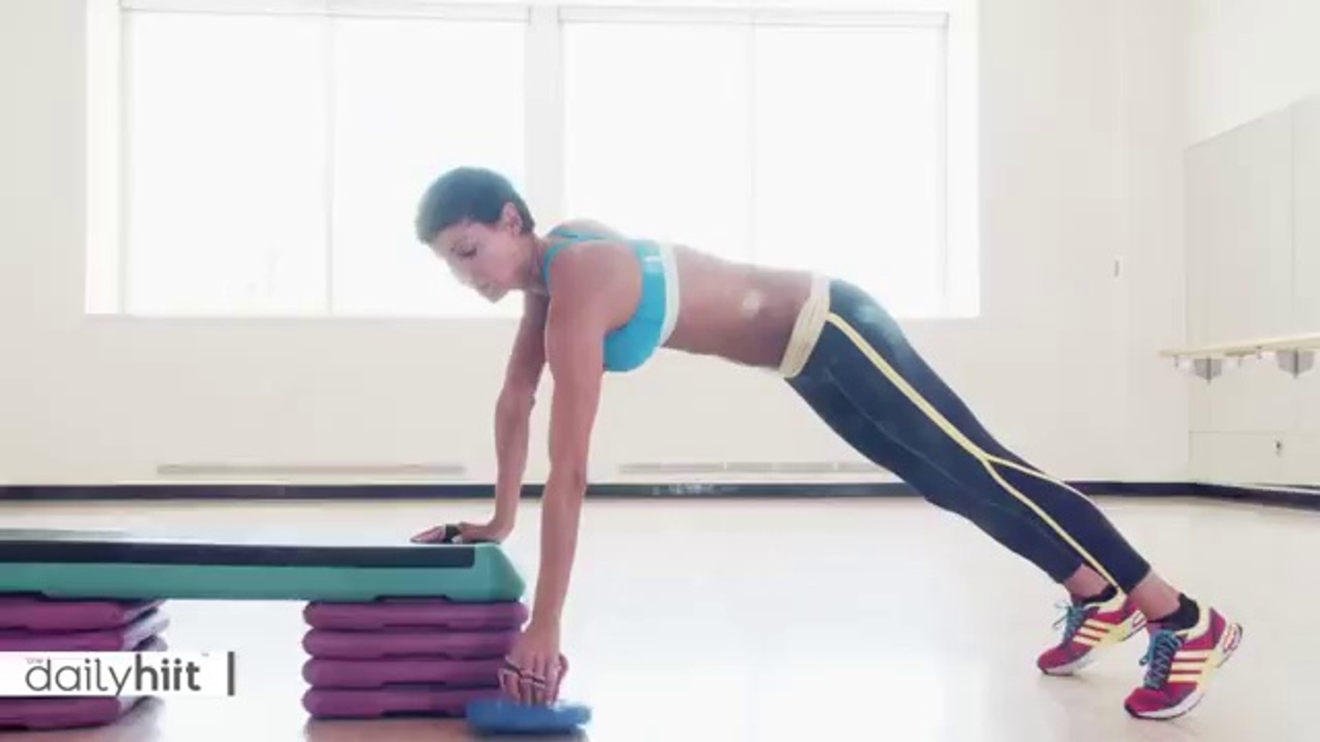 Plank Tricep Kick Back - TheDailyHiit