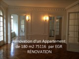 EGR RENOVATIONS - Rénovation appartemenet paris 16 nord
