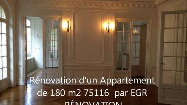 EGR RENOVATIONS - Rénovation appartemenet paris 16 nord