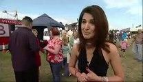Pakistani Anchor Reham Khan dancing in UK AAJ WITH REHAM KHAN, AAJ NEWS, AAJ TV,BBC