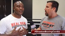 Csweat weekly Training Tip with Evander Holyfield with Big John McCarthy