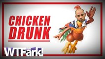 CHICKEN DRUNK: Sick Bastard Gets Arrested For Driving Drunk With 100 Chickens Crammed Into His Car. We're Guessing He's Not Vegan.