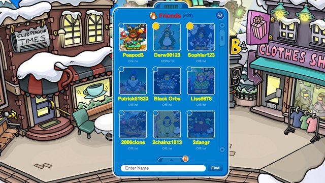 Club Penguin: How To Customize Your Friends List!