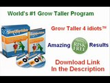 How to Grow Taller 4 Idiots  Stretching Exercises to Increase Height