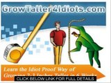 How To Increase The Height Grow Taller 4 Idiots Review and guide