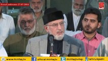 Dr Tahir-ul-Qadri's Press Conference 27-07-2014