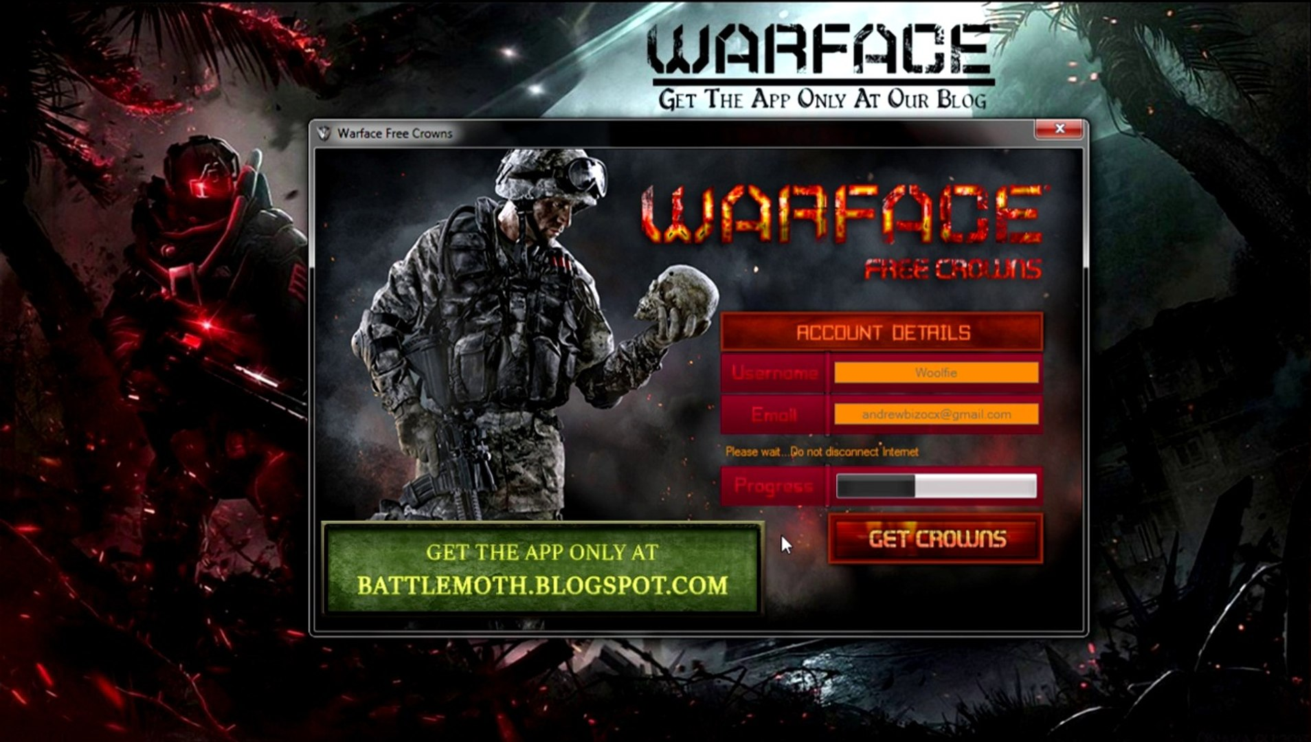 How to get Warface free Crowns And Credits