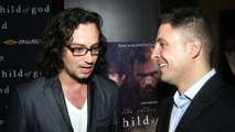 "Constantine Maroulis Attends the New York Premiere of ""Child of God"""