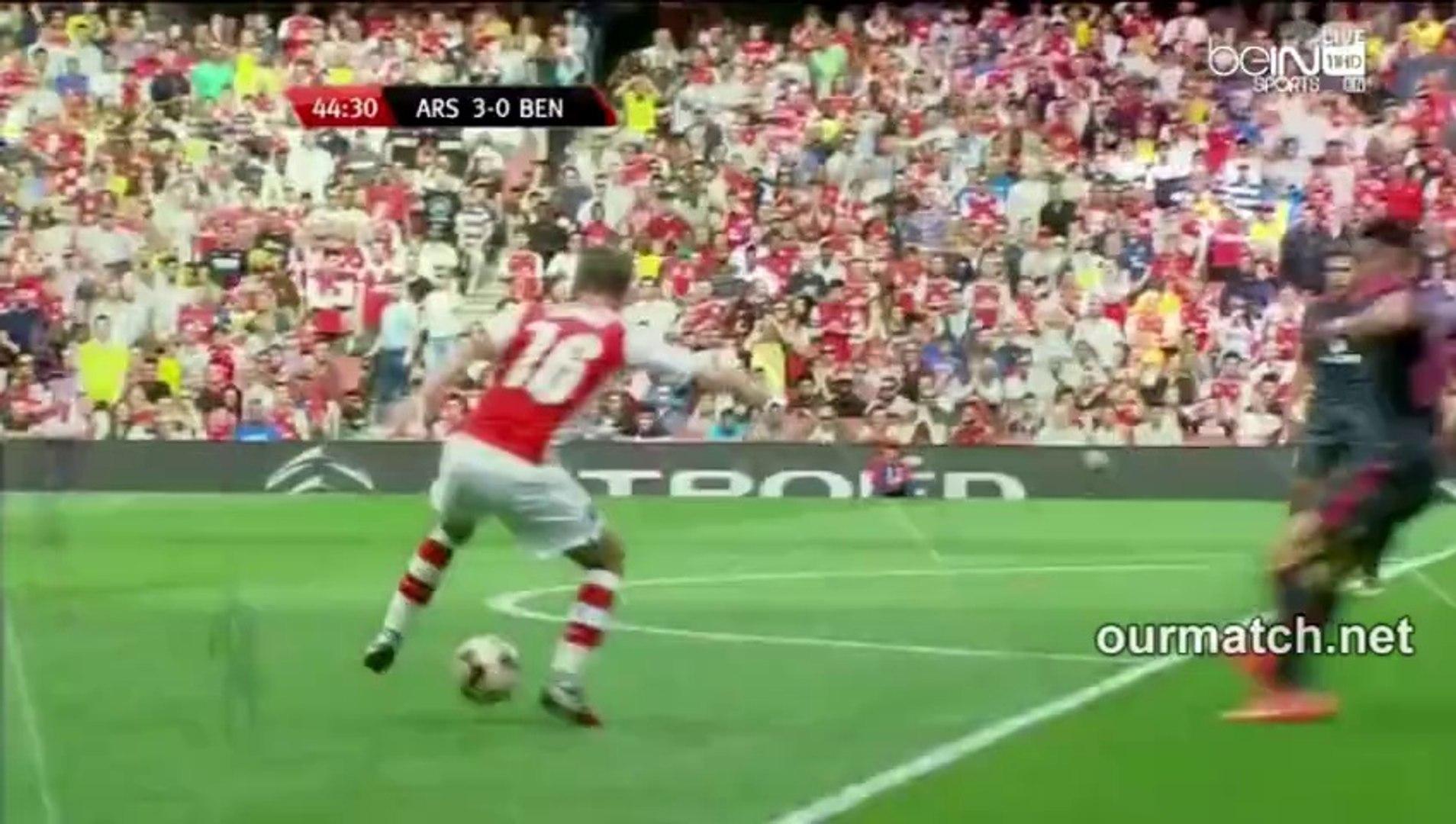 Arsenal 3-0 Benfica (Sanogo Goal) ourmatch.net