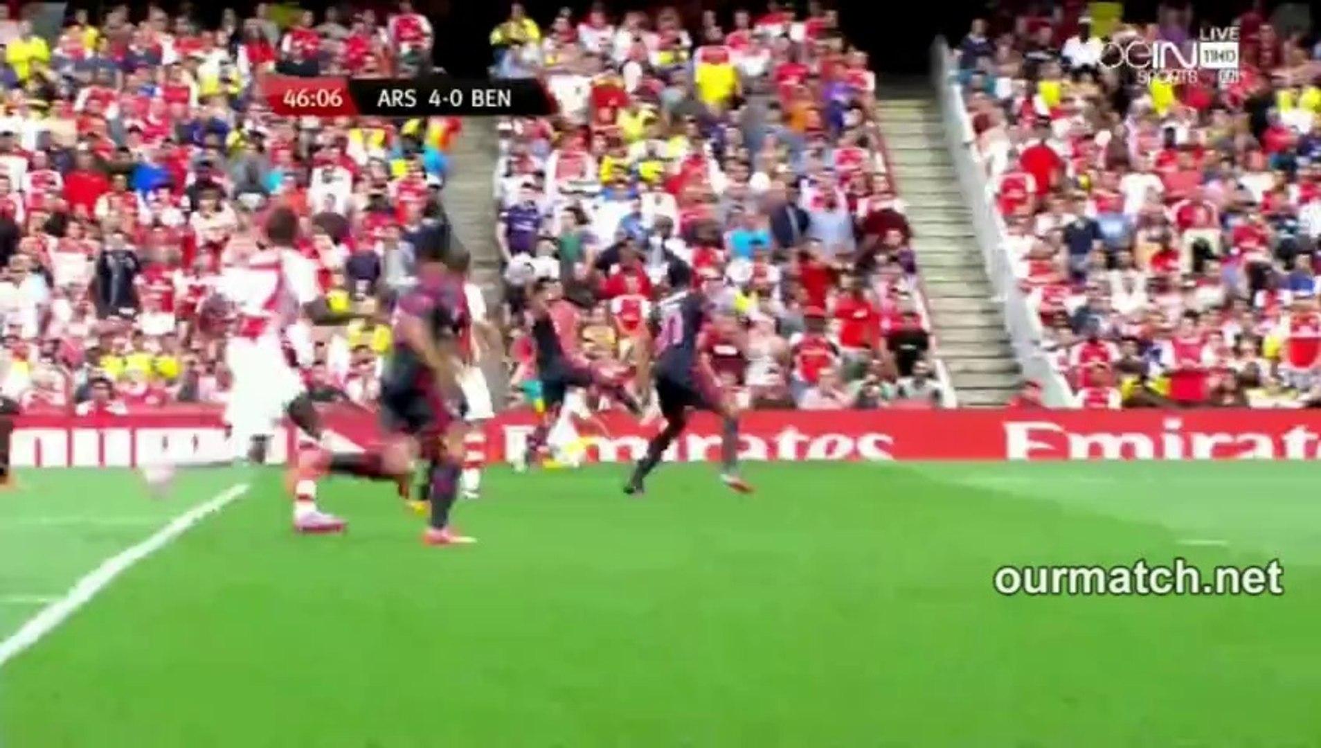 Arsenal 4-0 Benfica (Sanogo Goal) ourmatch.net
