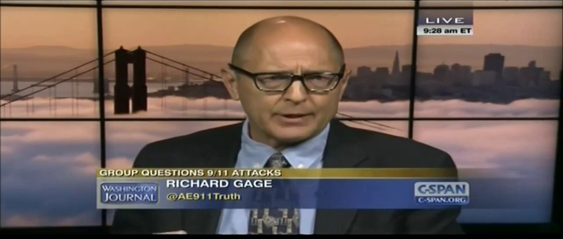 Richard Gage at CSPAN: Architects and Engineers for 9/11 Truth