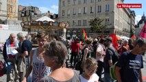 Rennes. 250 manifestants pour «une paix juste et durable» entre Israéliens et Palestiniens