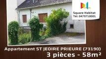 A vendre - Appartement - ST JEOIRE PRIEURE (73190) - 3 pièces - 58m²