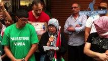 Manifestation pro-palestinienne et appels au boycott d'Israël à Avignon - 2 août 2014