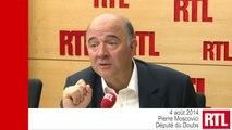 """La France mérite qu'on lui fasse confiance"", dit Pierre Moscovici"