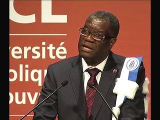 UCL Docteur Honoris Causa 2014 : Denis Mukwege, gynécologue congolais