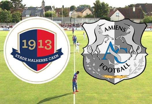 Le résumé du match SMCaen - Amiens SC